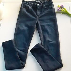 7 FOR ALL MANKIND WOMEN'S JEANS SKINNY SZ 28